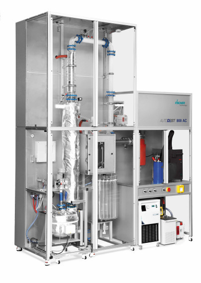 Improved Distillation Plants for Petroleum Products