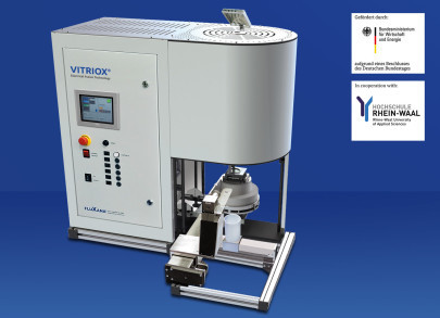 VITRIOX® electrical fusion machine now with Touch Display