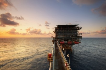 How Did an Offshore Oil Rig End Up on Land?
