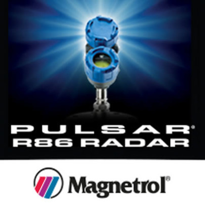 The new Pulsar<sup>®</sup> Model R86 for smarter level control