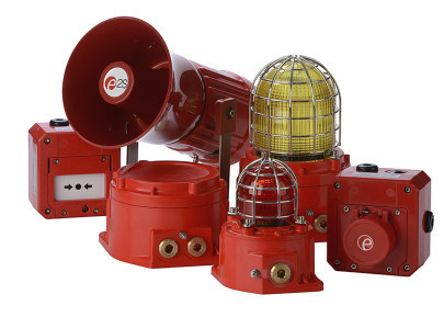 E2S showcases innovative LED technology for hazardous location warning signals at Offshore Europe