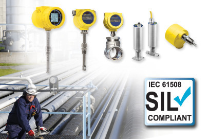 SIL Compliant Thermal Flow Meters and Switches for Safety Instrumented Systems