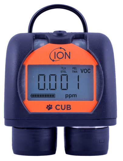 Cub Personal VOC Detector Upgraded For Improved Worker & Plant Safety
