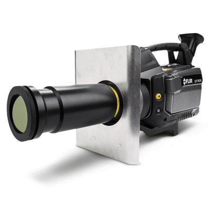 Thermal imager enables safe high temperature measurements