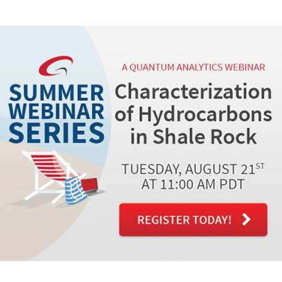 Webinar: Characterisation of Hydrocarbons in Shale Rocks