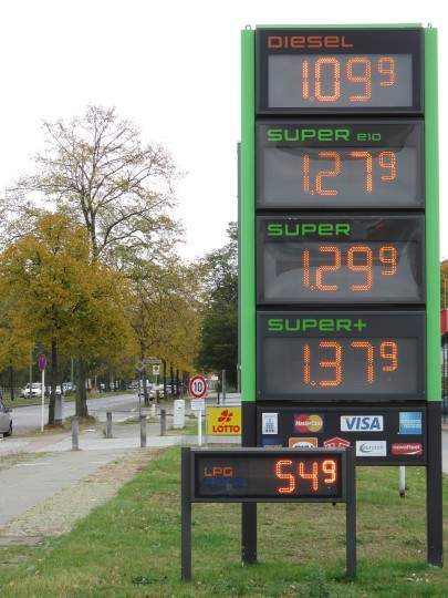 How Does the Price of LPG Compare to Other Fuels?