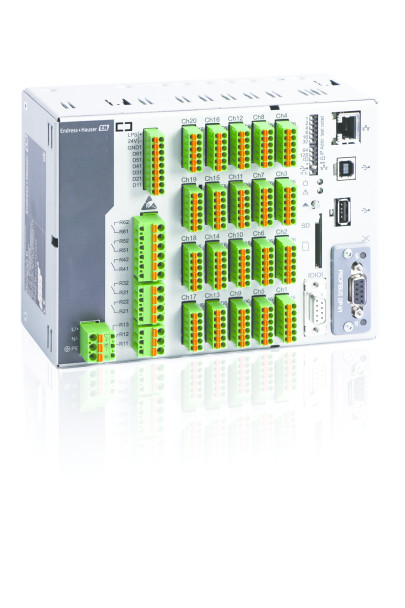 Endress+Hauser Releases Memograph M RSG45 Advanced Data Manager DIN Rail Version