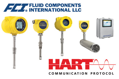 Industry's broadest selection of thermal flow meters with HART announced