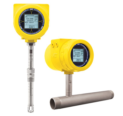 New thermal mass flow meter with breakthrough adaptive sensing technology