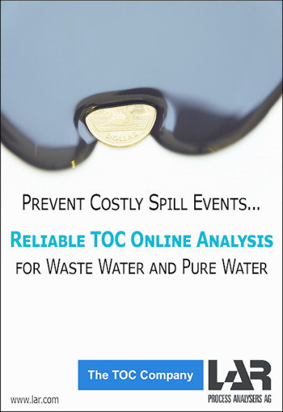 Why is it important to monitor water in the petrochemical