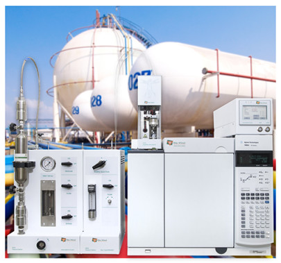 GC solution for the sampling and analysis of liquefied gases