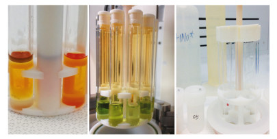 New approaches in sample preparation and precise multi-elemental analysis of crude oils and refined petroleum products