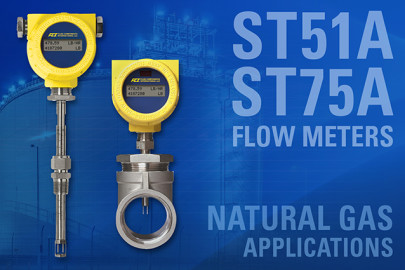 Thermal Mass Flow Meters Simplify and Reduce Cost of Natural Gas Flow Measurement