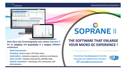 A new Chromatographic Software dedicated to MicroGC