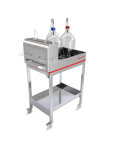 Solvent handling trolley aids efficiency and accuracy in polyolefin characterisation