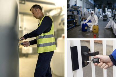 The key to contactless access control for explosive environments