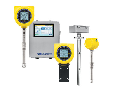 High accuracy air/gas mass flow meters enhance effectiveness of pollution control and monitoring systems