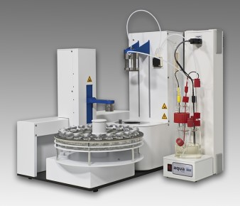 Total automation for water in used oils using coulometric Karl Fischer