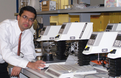 Dr. Raj Shah, Director at Koehler Instrument Company, conferred with multifarious accolades